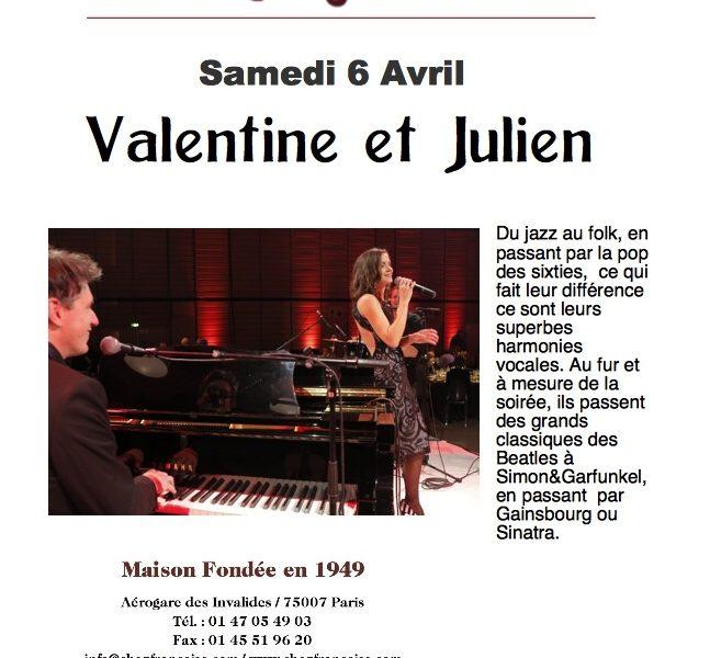 Duo live chez francoise