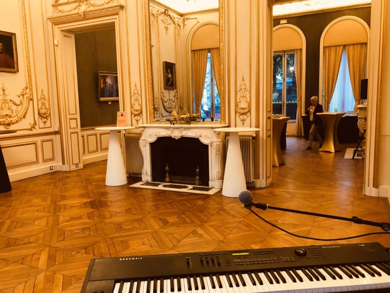 Piano live cocktail paris pour edf