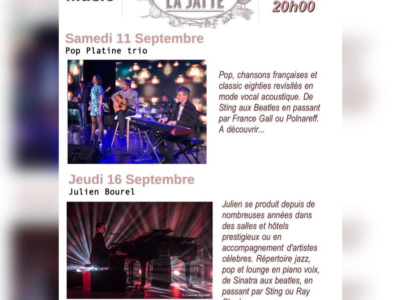 Café la jatte live