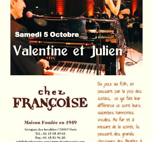 Concert chez françoise