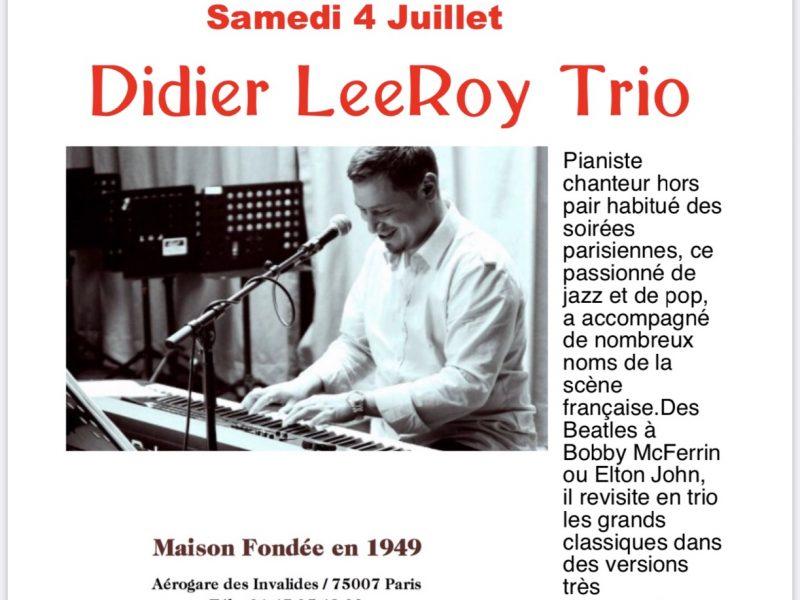 Concert live chez françoise